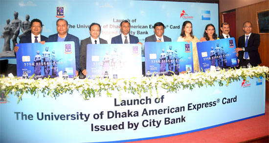 City Bank launches University of Dhaka American Express® Card