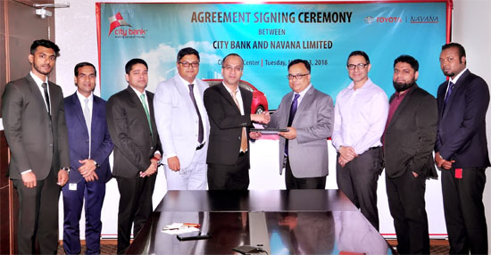 City Bank inks a deal with Navana Limited