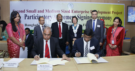City Bank signs MOU with Bangladesh Bank on developing SMEs further
