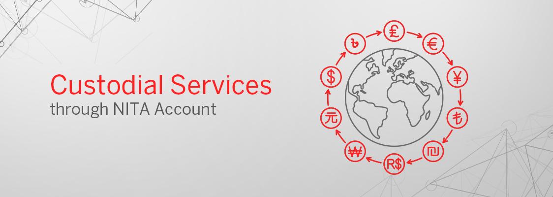 Custodial Services through NITA Account